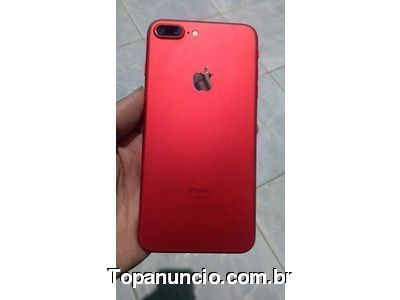 Foto iPhone 7 plus RED 256 GB GOPHONE 1