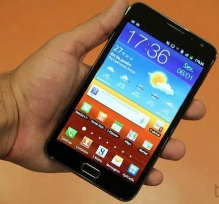 Foto Celular Réplica GALAXY NOTE A9220 - WI-FI - 3G - 2 CHIPS - ANDROID 2