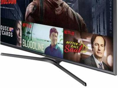 Foto Smart TV LED 55 Samsung 4K/Ultra 55KU6000 - Conversor Digital Wi-Fi HDMI USB Bivolt - 55 1