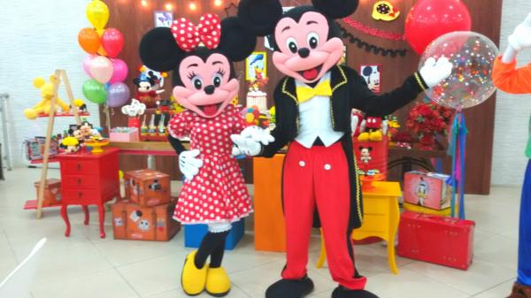 Foto Mickey e Minnie Cover Animação Festas Personagens vivos 1