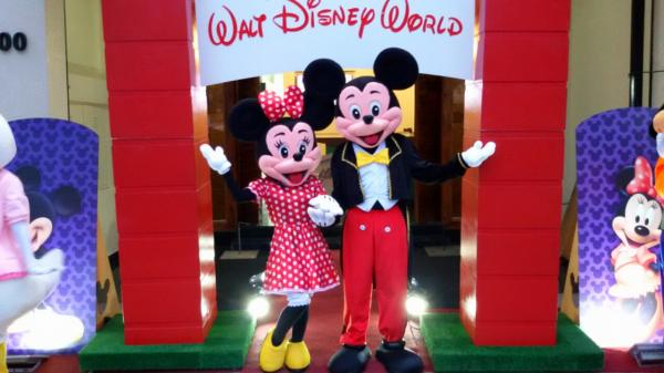 Foto Mickey e Minnie Cover Animação Festas Personagens vivos 3