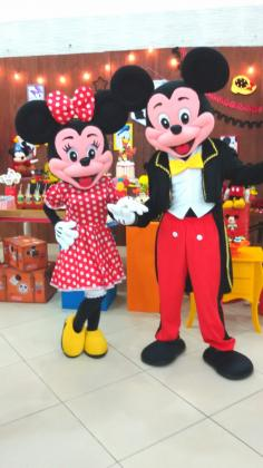 Foto Mickey e Minnie Cover Animação Festas Personagens vivos 4