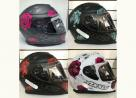 Capacete Axxis Rosas